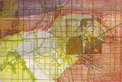 Mr. Scribble (Marc Bosworth) Tags: marcbosworth artist wichita kansas painting mixedmedia acrylic foundobjects collage printmaking lino linoleumblock reliefprinting collagraph screenprint