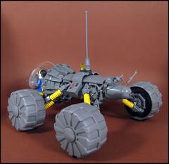 Explorer 1 (Karf Oohlu) Tags: lego moc minifig scifi rover explorervehicle