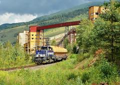 "746.009-0 (""SAPPHIRE"") Tags: outdoor hill landscape rail road railroad locomotive maina vlak train 7460090 746009 746 mn diesel vpenka calmit uacs 83361 slovakia vehicle tisovec"