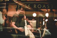 @FYABRIANSCOTT (fya_brianscott) Tags: love reflection stories street explore travel create people portrait human feeling emo hug relationship window nikon coffee shop artist visual storyteller mood life