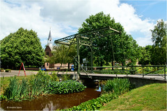 In the Country (Hindrik S) Tags: veenpark bargercompascuum country bridge brêge brug canal ditch sleat fiver gracht grêft kanaal wijk veen fean peat tourist museum green rural landelijk church tsjerke kerk 2016 reflection refleksje water wetter wasser summer sonyphotographing sony sonyalpha a57 α57 slta57 tamron tamronspaf1750mmf28xrdiiildasphericalif 1750