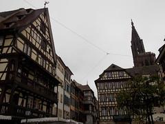 Strasbourg, France (Shaun Smith-Milne) Tags: tudorstyle france alsacelorraine cathedral steeple tower flèche strasbourg cathédraledenotredamedestrasbourg plaza townsquare