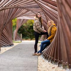 Second shoot (Pap_aH) Tags: papah modele model france nord north croix jardin garden parc 2016 portrait brenizer bokehrama panoramique panoramic