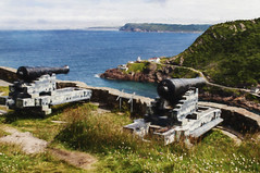 """Guarding """"the narrows"""" (Paul Green.....) Tags: stjohns narrows processing newfoundland nl cannons fortamherst"""