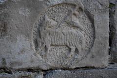 Agnus Dei, Claustre de la Seu Vella de Lleida (esta_ahi) Tags: lleida claustre claustro cloister seuvella ri510000156 catedral gtic gtico segri lrida spain espaa  agnusdei