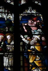 Llanfair Dyffryn Clwyd crucifixion window (Richard Holland) Tags: window crucifixion stained glass church denbighshire