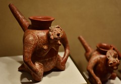 (orientalizing) Tags: 9001200ad americas anthropomorphic antiquities archaeologicalmuseum ceramic jalisco mexico mexicocity nationalmuseumofanthropology northernmexico postclassic pots pottery precolumbian vessels