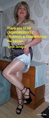 Thanking UK crossdressers trannies and admirers for posting my mini skirts montage as their banner love Jane xx (janegeetgirl2) Tags: transvestite crossdresser crossdressing tgirl tv ts stockings heels garters nylons glamour slip satin stilettos fully fashioned high vintage suspenders jane geeuk crossdresserstranniesadmirers