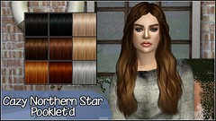 Cazy Northern Star Hair # Pooklet textures (mertiuza) Tags: los sims sim ts4 ls4 sim4 sims4 lossims thesims lossims4 thesims4 luev tarihsims tarihsim ts tarih recolor recolors mertiuza tarihsimsnet wwwtarihsimsnet download downloads descarga descargas custom content contenido personalizado cc cazy northern star northernstar hair pooklet retexture