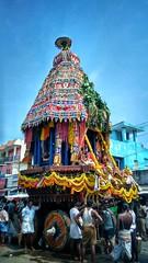 Temple Festival (Ivon Murugesan) Tags: people places travel mamallapuram mahabalipuram tamilnadu festival festivity tamilfestival templefestival hindufestival hindu chariotfestival chariot carfestival car crowd mass movement flickrtravelaward outdoor