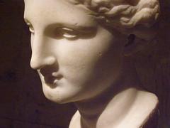 Head of Artemis or Aphrodite (DeBeer) Tags: kunsthistorischesmuseum museum vienna wien austria art sculpture statue greek hellenistic artemis aphrodite head marble