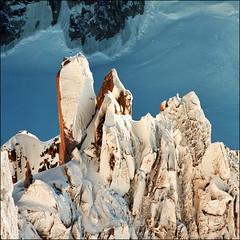 Cosmique ridge - detail (Katarina 2353) Tags: landscape alps france chamonix katarina2353 katarinastefanovic film nikon