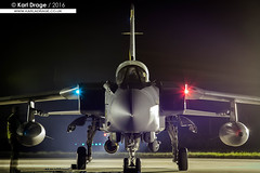ZA564 - Panavia Tornado GR4 - No. 31 Squadron, RAF (KarlADrage) Tags: cqwi cqwi2008 kinloss rafkinloss za564 panaviatornado tornado tornadogr4 gr4 31sqn 31squadron goldstars rafmarham night