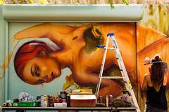 La grafitera (saparmo) Tags: seleccionar grafitti art street grafitera color miami florida arte urbano