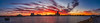 Port Adelaide River Industrial Sunset (johnwilliamson4) Tags: adelaide b industrial outdoor panorama portadelaideriver red sky southaustralia sunset water yellow portadelaide reflections ue australia