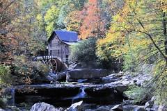 Clade Creek Grist Mill in Autumn (Chuck Hood - PhotosbyMCH) Tags: photosbymch landscape longexposure nd autumn fallcolors waterfall creek mill trees leaves gladecreek gladecreekgristmill babcockstatepark westvirginia usa canon 5dmkiii 2016 outdoors