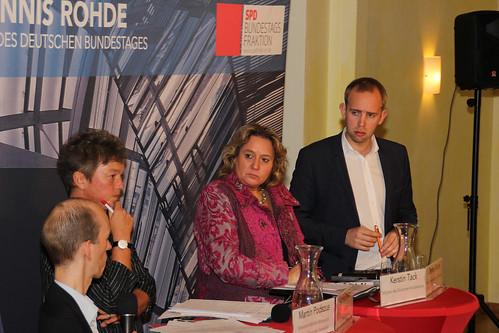 Veranstaltung zum Bundesteilhabegesetz mit Kerstin Tack MdB in Oldenburg.