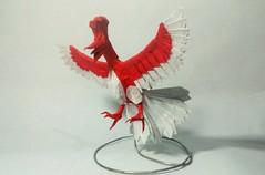 Ho-oh de Mark Hanke (mark origami (2)) Tags: origami papiroflexia papel paper hooh pokemon legendariy legendario phoenix fenix