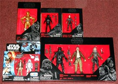 Hasbro - Star Wars Exclusives (Darth Ray) Tags: hasbro star wars exclusives walgreens c3po walmart 3 34 black series imperial death trooper sergeant jyn erso toys r us captain cassian andor stormtrooper 2pack target 3pack