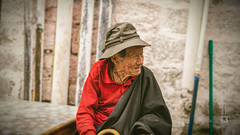 Tibet, candid shot of an old man sitting and looking at something (Lhasa, China), 06-2016, 82 (Vlad Meytin, vladsm.com) (Vlad Meytin | Instagram: vmwelt) Tags: chengguan china khimporiumco meytin tibet tibetan vladmeytin art artgallery artists artphoto artworld asia candid carlzeiss chinese clothes fe5518 gallery highaltitude local man oldman photography photographyart pictures sony sonya7 sonyalpha street streetphotography summer vladsm vladsmcom vmwelt wrinkles zeiss བོད་ ལྷ་ས། 中国 中國 拉萨 西藏