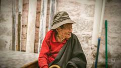 Tibet, candid shot of an old man sitting and looking at something (Lhasa, China), 06-2016, 82 (Vlad Meytin, vladsm.com) (Vlad Meytin   Instagram: vmwelt) Tags: chengguan china khimporiumco meytin tibet tibetan vladmeytin art artgallery artists artphoto artworld asia candid carlzeiss chinese clothes fe5518 gallery highaltitude local man oldman photography photographyart pictures sony sonya7 sonyalpha street streetphotography summer vladsm vladsmcom vmwelt wrinkles zeiss