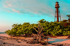 The Sanibel Lighthouse. (The Sergeant AGS (A city guy)) Tags: sanibel lighthouse afternoon architecture island travelling walking seashore beachscape beach miamifl