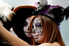 Day of the Dead 2016 31 (part 1) (Ruben Gusman Photography) Tags: thenelsonatkinsmuseumofart mariachis diadelosmuertos dayofthedeadskulls skeletons death donquioto kansascity