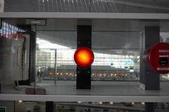 Day 322/366 : I'm sorry Dave, I'm afraid I can't do that (hidesax) Tags: 322366 imsorrydaveimafraidicantdothat red light airport fire alarm haneda tokyo japan hidesax leica x vario 366project2016 366project 365project
