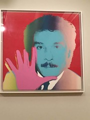 1-9 Antonio at El Museo (MsSusanB) Tags: antonio antoniolopez art warhol portrait silkscreen painting
