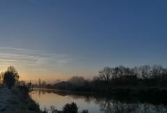 frosty morning (jehazet) Tags: landscape landschap groningen reitdiep sunrise