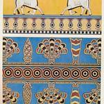 wonderen der oudheid II,1925 ill   Nimrud  paleisdecoratie a