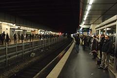 La Défense railway station, 15.02.2012. (Dāvis Kļaviņš) Tags: france puteaux panoramio