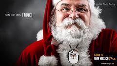 Santa Wears a Bolo (Winfield Trading) Tags: native america jewely arts craft navajo zuni christmas bolo santa new mexico nm gallup true