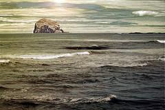 sometimes the sea (Hal Halli....happy everything!!) Tags: ocean uk sunset sea seascape nature mystery coast scotland waves wallart adventure northberwick shining homedecor twop daarklands exoticimage
