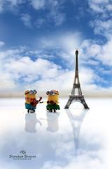 Love in Paris (Showkat.Shuvro- ) Tags: paris love eiffeltower minion showkatshuvro