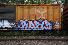 _MG_3717 (Revise_D) Tags: graffiti trains graff rapid freight revised trainart fr8 bsgk benching fr8heaven fr8aholics benchingsteelgiants