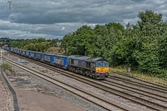 66419 (Tomahawk Photography) Tags: train rail railway tesco railways freightliner britishrailways class66 drs ukrail bromsgrove ukrailways bankersbridge directrailservices 66419 garringtonsbridge