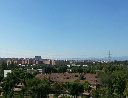 Back to  Madrid #madrid #view #vista