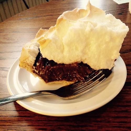 ...and Charlotte's chocolate pie