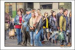 HDR VERSION (Derek Hyamson) Tags: street church liverpool audience candid hdr