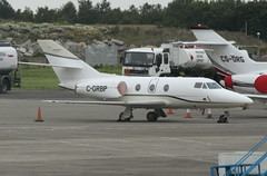 C-GRBP (G-650) Tags: ireland dublin private airport 10 falcon dub dassault bizjet eidw cgrbp