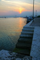 Evening View from Murano 2 (ftoomschb) Tags: venice evening mediterranean sony alpha dslr murano notte a700