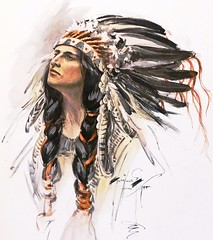 """""""Hiawatha"""" by Harrison Fisher from """"The Song of Hiawatha"""" by Henry Wadsworth Longfellow. Bobbs-Merrill, (1906) (lhboudreau) Tags: illustration book etching poetry poem drawing feathers feather illustrations drawings books nativeamerican engraving 1906 longfellow nativeamericans americanindians americanindian bookart headdress minnehaha engravings hardcover etchings hiawatha vintagebook poetrybook henrywadsworthlongfellow vintagebooks classicbook gitchegumee hardcovers epicpoem classicbooks vintagepoem eaglefeathers harrisonfisher thesongofhiawatha songofhiawatha hardcoverbooks hardcoverbook thebobbsmerrillcompany classicpoetry vintagehardcoverbook bobbsmerrill vintagepoetrybook classicpoem bobbsmerrillcompany vintagehardcoverbooks ontheshoresofgitchegumee"""