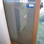 発電窓ガラスの写真