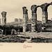 Aqueducts and castle, Ephesus