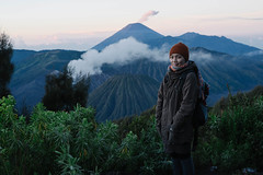 Bromo Crater, Surabaya, Indonesia (raemysakai77) Tags: travel mountain indonesia landscape volcano java sony backpacking surabaya bromo backpackers eastjava sonyalpha bromocrater sonya7
