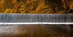 Autumnal Fall (Squareburn) Tags: longexposure autumn waterfall northumberland weir rivercoquet leefilters guyzance