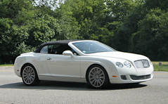 Bentley Continental GTC Speed (SPV Automotive) Tags: white sports car speed continental convertible exotic bentley gtc