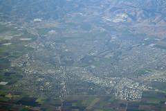 Aerial view of Salinas, Monterey County, California (cocoi_m) Tags: california aerial salinas montereycounty highway101 salinasvalley aerialphotograph