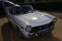 1965 Fiat 1500 Cabriolet (benoits15) Tags: old italy classic cars car vintage spider italian nikon automobile italia fiat meeting convertible automotive voiture historic retro collection motor 1500 coches 1964 cabriolet prestige anciennes